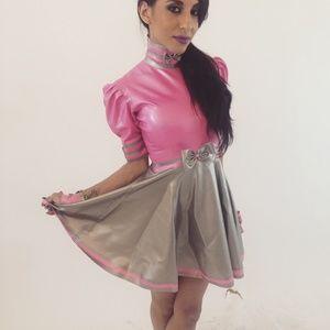Westward Bound Dresses - LATEX PIROUETTE DRESS
